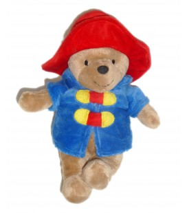 Peluche doudou Ours My first PADDINGTON - H 23 cm - Rainbow Design - P&Co 2013 Licence