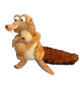 Peluche SCRAT Age de Glace Ice Age 28 cm Down of the Disnosaurs Play By play