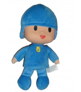 Peluche Doudou Pocoyo H 25 cm Plush Stuffed Figure Toy Doll BANDAI SA