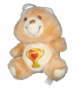 Peluche BISOUNOURS CARE BEARS PLUSH Groschampion Champ Bear COUPE H 16 CM KENNER
