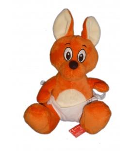 Peluche doudou Kangourou bébé WALIBI H 22 cm Belpark Bisoes