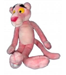 Peluche doudou PANTHERE ROSE - Pink Panther Plush - 45 cm - PORT AVENTURA - Metro Goldwin Mayer
