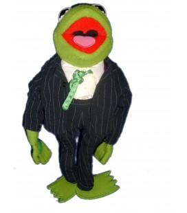 Peluche doudou Muppet KERMIT Smoking H 42 cm - Jim Henson - Junio Toys
