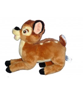 Peluche doudou BAMBI Disney Nicotoy Simba 587/6694 24093 H 27 x L 25 cm
