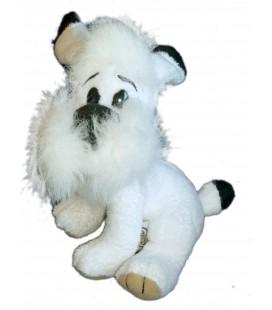 Peluche Doudou IDEFIX Chien d'Obelix Parc Asterix 1995 Goscinny Uderzo H 45 cm x L 35 cm NOUNOURS