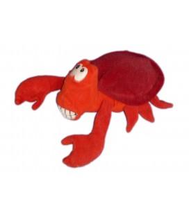 Peluche doudou Sébastien le Crabe Bernard l'Hermite LA PETITE SIRENE Disney L 20 cm