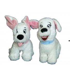 LOT - Peluche Doudou Chien Chiot - Penny - Les 101 Dalmatiens - Disney L 18 cm