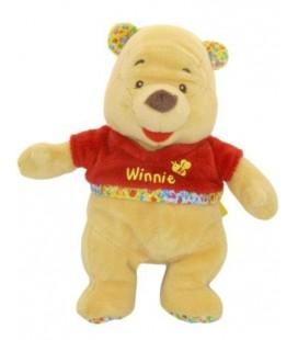 Doudou Peluche WINNIE L'OURSON The Pooh - 23 cm - Abeille Disney Baby