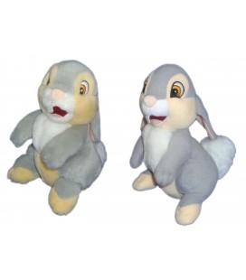 LOT 2 Petits PAN PAN Panpan Peluche Doduou Plush Thumper H 16 cm Disney Jemini