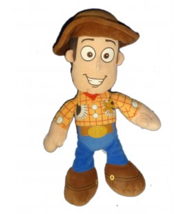 Peluche Doudou Woody Andy TOY STORY Cow Boy 32 cm Disney Pixar Nicotoy