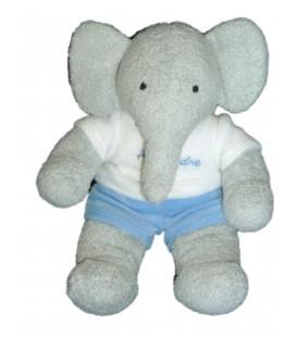 Peluche Doudou Alexandre Fils enfant Elephant BABAR LANSAY H 20 cm