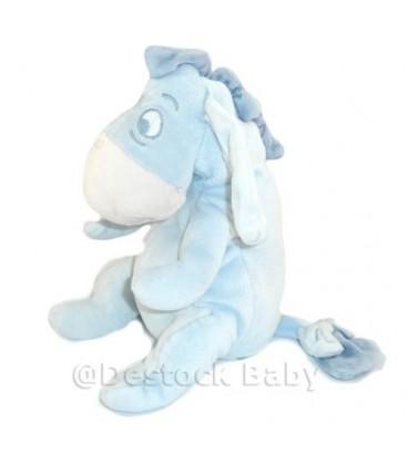 Doudou BOURRIQUET Bleu ciel clair - Disney Baby - 20 cm