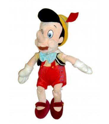 Peluche doudou Pinocchio 35 cm - Authentique Disneyland Resort Paris