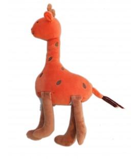 Doudou GIRaFE orange JaCaDI - 32 cm