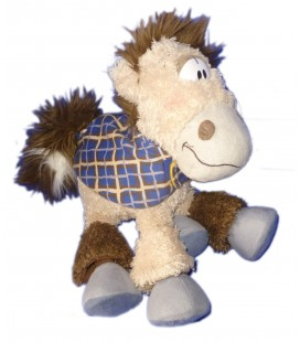 Peluche doudou CHEVAL Galupy DIDDL H 26 cm x L 30 cm