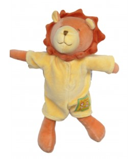 Doudou LION jaune orange - MOULIN ROTY - Les Loustics - H 28 cm