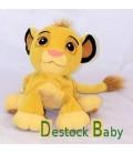 Peluche Doudou Le Roi Lion 26 cm Disney Hasbro Gros grelot à l'intérieur