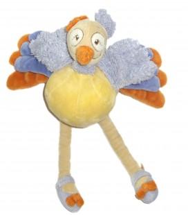 Doudou peluche Oiseau Autruche Sissi NOUKIES Noukie's - H 30 cm