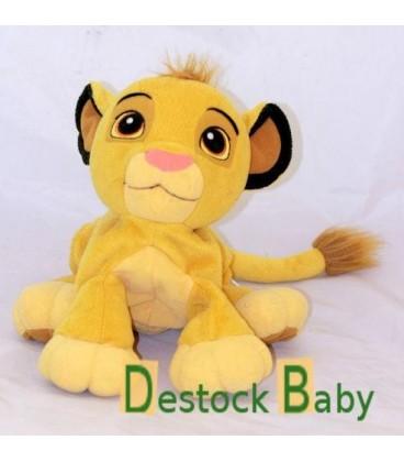 Peluche Doudou Le Roi Lion 26 cm - Disney Hasbro - Gros grelot à l'intérieur