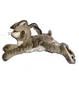 Peluche doudou LAPIN LIEVRE IKEA Vandring Hare - Bunny Rabbit Baby comforter Soft Hug Toy L 40 cm