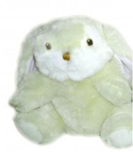 Peluche Marionnette Lapin blanc IKEA Titta 25 cm Avec étiquettes tissu effacées