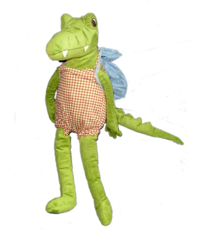 peluche doudou crocodile salopette sac dos ikea 55 cm. Black Bedroom Furniture Sets. Home Design Ideas