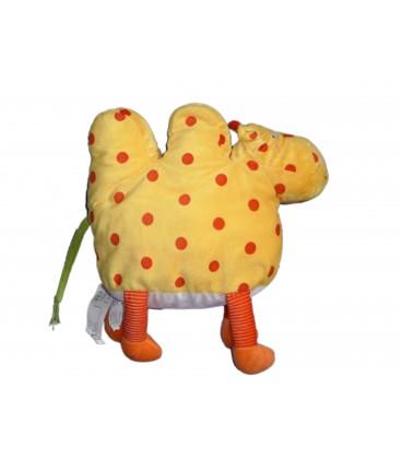 Peluche Barnsling Kamel Plush - CHAMEAU Dromadaire jaune orange pois rouges - IKEA - 34x32cm
