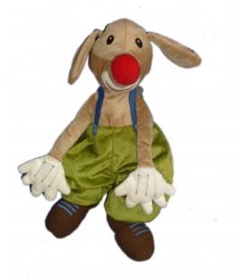Peluche Doudou Chien CLOWN Kapplar Cirkus Plush - IKEA - H 32 cm