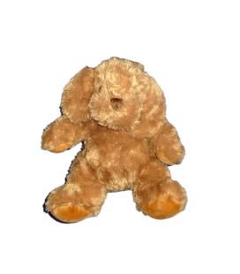 Peluche Doudou CHIEN marron roux - IKEA - H 30 cm