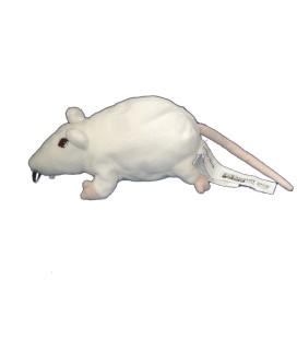 Peluche Doudou Rat Souris blanche - Gosig Ratta - IKEA - L 22 cm