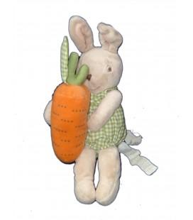 Peluche doudou lapin Carotte IKEA 32 cm