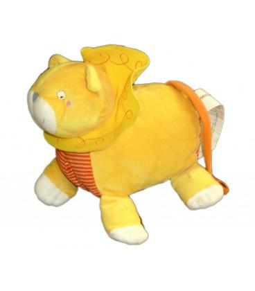 Peluche Doudou LION orange rouge - Barnslig Leion - IKEA - 22 cm