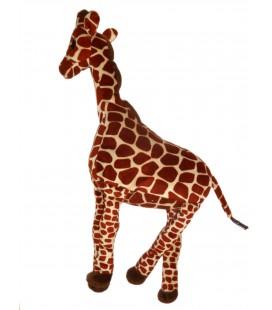 Doudou peluche GIRAFE Marron beige 45 cm IKEA klappar giraff