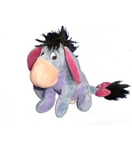 Peluche doudou BOURRIQUET - Disneyland Resort Paris - H 16 cm - DN0603 Eeyore Super soft Boa