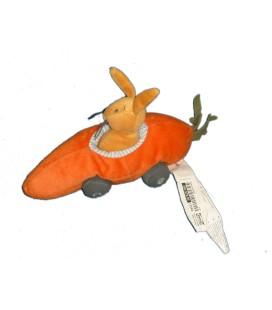 Doudou Peluche LAPIN voiture Orange IKEA - Fabler