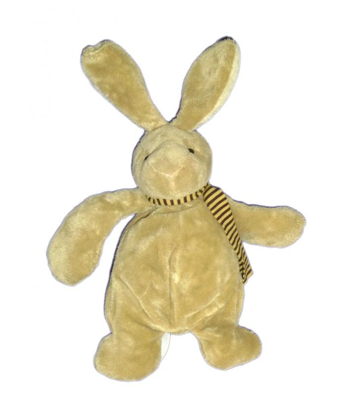 Doudou peluche lapin beige marron clair tout compte fait - Peluche lapin marron ...