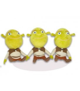 Lot de 3 peluches SHREK Dreamworks Big Headz