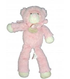 Doudou OURS bonbon rose - DOUDOU ET COMPAGNIE - H 30 cm DC2015