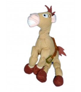 COLLECTOR ! Peluche Figurine Cheval TOY STORY Pile-Poil Bullseye H 22 cm Disney Store Mini bean bag 8""