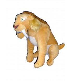 Peluche doudou LION Diego Age de Glace 4 Gipsy H 18 cm