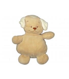 Doudou CHIEN beige - Amtoys - H 30 cm