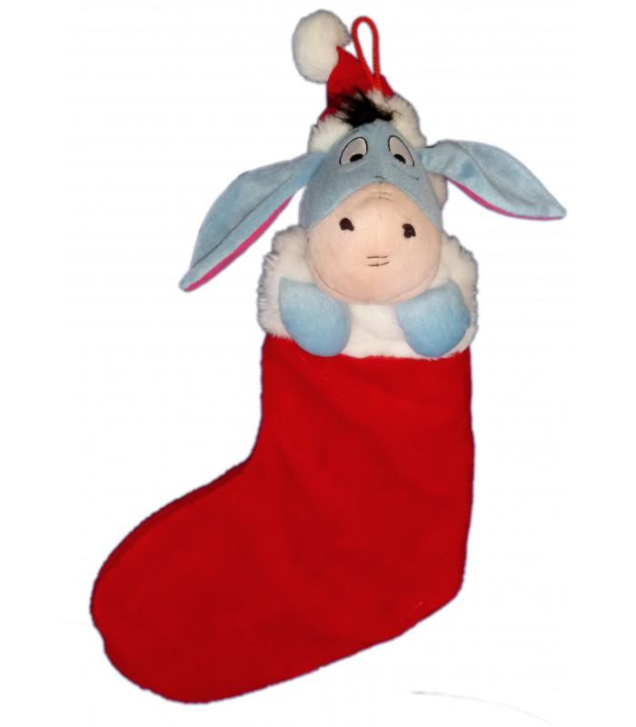 chaussette de noel peluche bourriquet h 50 cm disney - Chaussette De Noel Disney