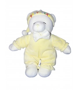 Doudou peluche OURS Jaune - Gipsy - Baby Bear - H 32 cm