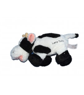 Doudou peluche VACHE Lazy Daisy - Anna Club Plush - H 15 x 24 cm + queue