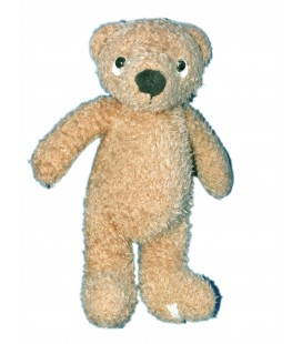 Doudou peluche OURS marron clair beige - Anna Club Plush - Bruce The Bear - H 30 cm