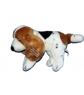 Doudou peluche CHIEN Basset - Anna Club Plush - L 30 cm + queue