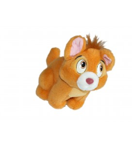 Peluche doudou CHAT Chaton TOULOUSE Les Aristochats H 20 cm Disney Mattel