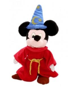 Peluche Doudou - Mickey Magicien Fantasia - Disneyland Paris - 40 cm