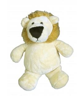 Peluche doudou LION beige PEEKO - H 18 / 24 cm