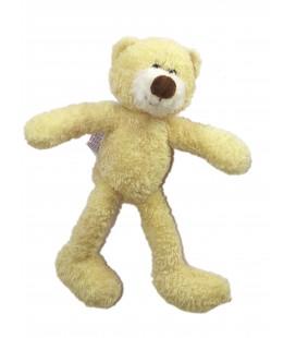 Doudou Peluche OURS beige Nez Marron - GUND - L 26 cm